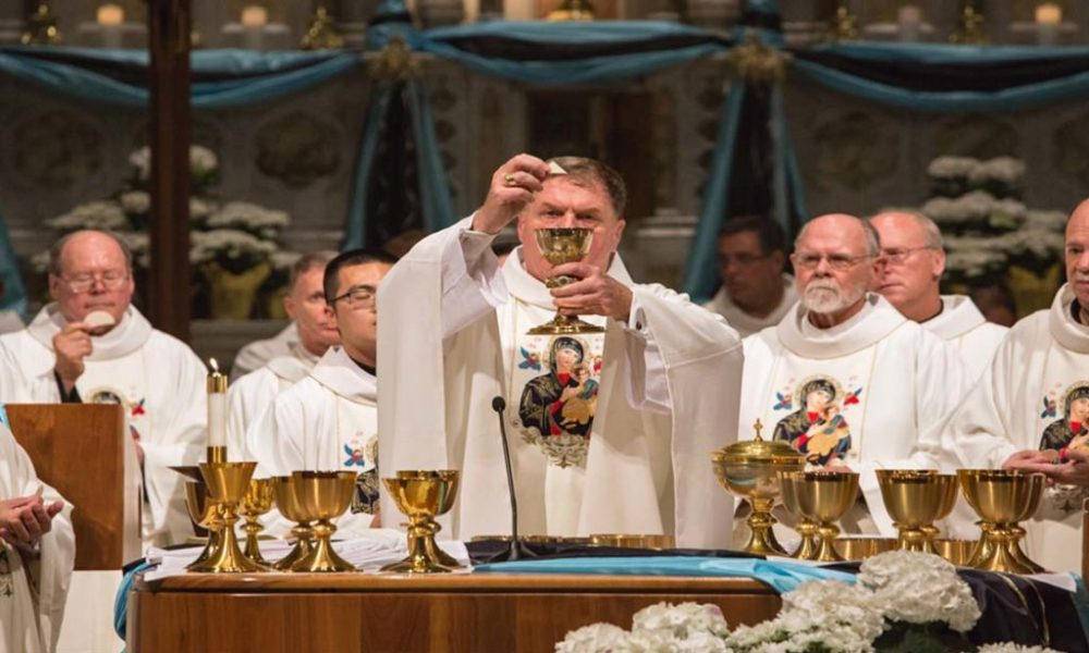 Redemptorists Celebrate Mass