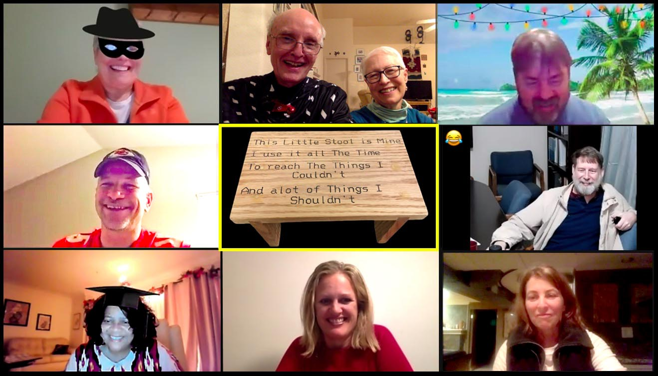 A virtual Christmas gathering through Partners in Mission.