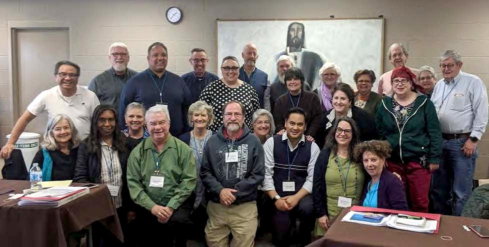 Past participants of Hesychia School of Spiritual Direction
